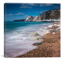 Worbarrow Shore, Canvas Print