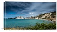 Worbarrow Bay, Canvas Print