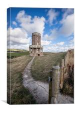 Clavell Tower, Canvas Print