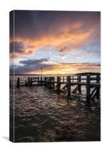 Brownsea Sunset, Canvas Print