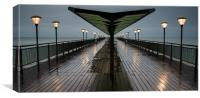 Boscombe Pier, Canvas Print
