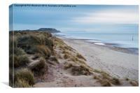 Solent Beach, Canvas Print