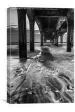 Under the Pier, Canvas Print