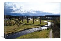 Findhorn Viaduct, Canvas Print