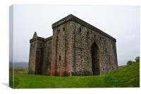 Hermitage Castle, Canvas Print