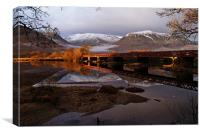 Bridge Across Loch Awe, Canvas Print