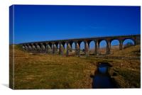 Shankend Viaduct, Canvas Print