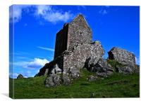 Smailholm Tower, Canvas Print