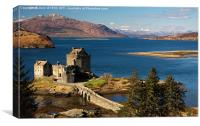 Eileen Donan Castle, Canvas Print