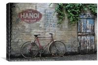 The Hanoi Bike Shop, Canvas Print