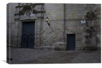 Placa de Sant Felipe Neri - where many Catalans died in the Spanish Civil War