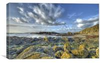 Niarbyl Beach, Canvas Print