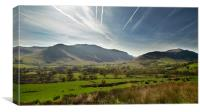 Near Buttermere, Canvas Print