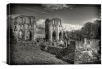 ROCHE ABBEY, Canvas Print