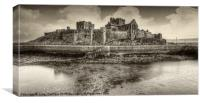Peel Castle, Canvas Print