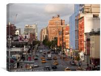 New York, New York 2009, Canvas Print