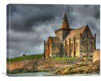 St Monans Church, Fife, Scotland, Canvas Print