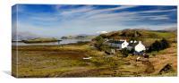 Port Ramsay on Lismore, Argyll, Scotland, Canvas Print