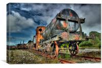 Dunaskin Railway Heritage Centre, Ayrshire, Canvas Print