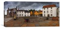 Culross village, Fife, Scotland , Canvas Print