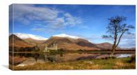 Kilchurn Castle, Loch Awe, Argyll, Scotland, Canvas Print