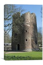 Cow Tower, Norwich, Canvas Print