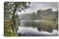 Autumn Mist, Canvas Print