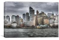 Lower Manhattan, Canvas Print