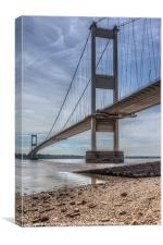 The Severn Bridge, Canvas Print
