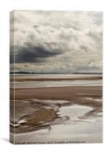 Towards the Estuary, Canvas Print