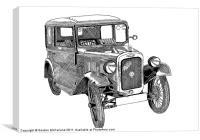 Austin RN 1932, Canvas Print