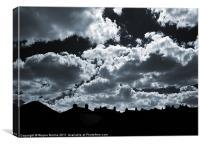 Dark Days, Canvas Print