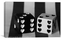 Black & White Dice