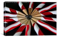 Candy Stripes, Canvas Print