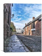 Path to the cathedral, Canvas Print