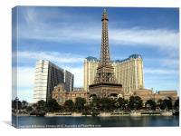 Vegas Tower, Canvas Print