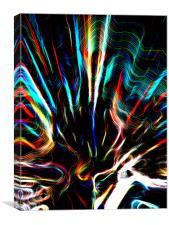Ghostly Echos, Canvas Print