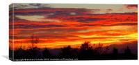 Colorado Sky, Canvas Print