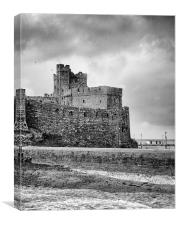 Peel Castle, Canvas Print