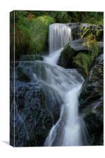 Injebrek Waterfall, Canvas Print