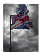 Broken Britain, Canvas Print