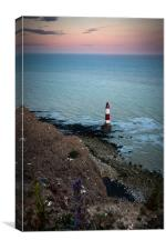 Beachy Head Sunset, Canvas Print