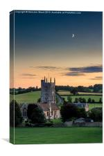 Church of St Philip and St James, Canvas Print