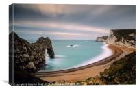 Durdle Door Sunset, Canvas Print