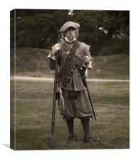 Rifleman Guard, Canvas Print