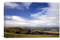 Sussex Landscape, Canvas Print