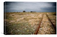 Solitude at Dungeness, Canvas Print