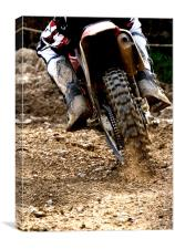 Motocross Roost, Canvas Print