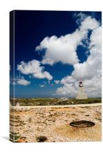 A lighthouse at Sagres - Portugal, Canvas Print