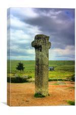 Nun`s Cross Dartmoor, Canvas Print